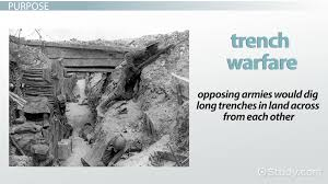 trench warfare during wwi definition facts conditions video blitzkrieg during wwii definition facts warfare strategy