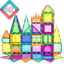cossy 60 Pcs Magnet Tiles Magnetic 3D Building ... - Amazon.com