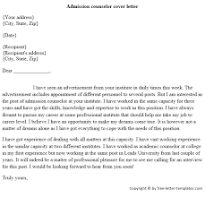 admissions counselor cover letterclick here to download