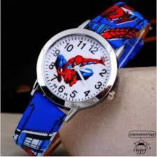 SAP-<b>Hot Sale SpiderMan Watch</b> Cute Cartoon Watch Kids | Shopee ...