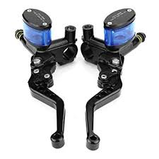 Qiilu 1 Pair of CNC Brake Pump <b>Refit</b> Hydraulic Handlebar Brake ...