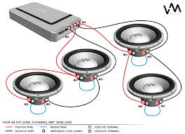 subwoofer ohm wiring subwoofer image wiring diagram home stereo receiver 4 ohm subwoofer wiring diagram wire diagram on subwoofer ohm wiring