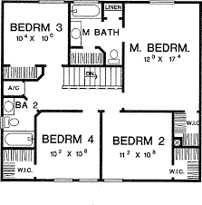 Beautiful Simple bedroom house plan for Hall  Kitchen  bedroom    simple bedroom floor plans