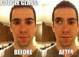 Foto divertente: Prima e dopo aver usato Google Glass. Foto divertente Prima e dopo aver usato Google Glass - prima%2520e%2520dopo%2520aver%2520usato%2520Google%2520Glass