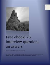 interview questions and answers ebook by career net pdf