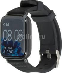 """Купить Смарт-<b>часы JET Sport</b> SW-2, 1.3"""", черный в интернет ..."""