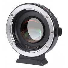 Переходное <b>кольцо Viltrox EF-M2 II</b> v.2 (Canon EF — Micro 4/3)