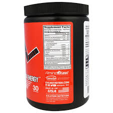 EVLution Nutrition, <b>BCAA Energy</b>, Фруктовый Пунш, <b>10</b>,<b>2</b> Унций ...