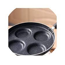 24CM Four Hole Omelette Pot Non Stick Pan Rice ... - Amazon.com