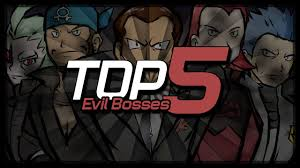 top pok eacute mon evil bosses top 5 pokeacutemon evil bosses