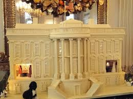 u s department of defense photo essay a 390 pound white chocolate and gingerb replica of the white house first lady