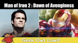 batman v superman is iron man 2 dawn of vengeance unofficial trailer side by side batman superman iron man 2