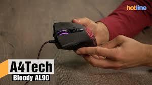<b>A4Tech</b> Bloody AL90 — обзор <b>игровой мыши</b> - YouTube