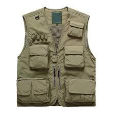 Buy Coromose Fishing Vest Men Quick Dry Thin Mesh <b>Photography</b> ...