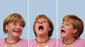 <b>Karl Lagerfeld</b> criticises Angela Merkel for <b>her</b> dress sense