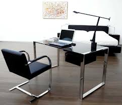 glass desk for office writing attractive office desk metal