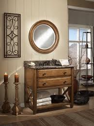 open bathroom vanity cabinet: casual essence open shelving bathroom vanity