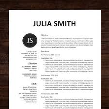 1000+ images about graphic | cv on Pinterest | Resume templates ... Resume / CV Template, Professional Resume Design for Word Mac or PC, Free Cover Letter, Creative, Modern - The Chloe