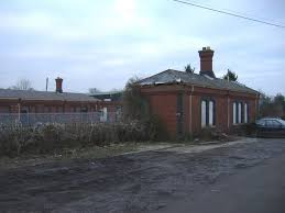 Badminton railway station