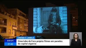 Faro viveu uma noite de cinema comunitário
