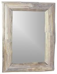 framed teak mirror bathroom mirrors bathroom mirrors