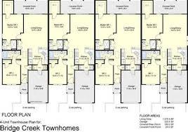 Urban Row House Floor Plans  Baltimore Row House Floor Plan   VAlinetown house floor plan  Plex Floor Plans