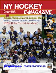 ny hockey online magazine by ny hockey online issuu nyhol 2016