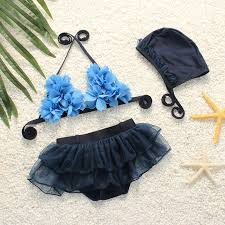 Babies Swimsuit Set <b>Infant Baby Girl Two Pieces</b> Floral Off Shoulder ...