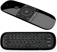 Air Remote,WeChip 2.4G Wireless Keyboard W1 ... - Amazon.com