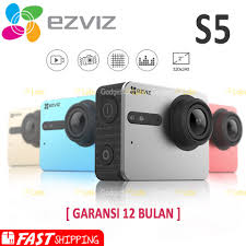 EZVIZ S5 <b>Sport Action Camera</b> Ultra HD 4K Built-In LCD Touch ...