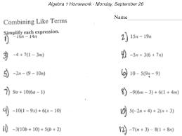 algebra aian rm  algebra 1