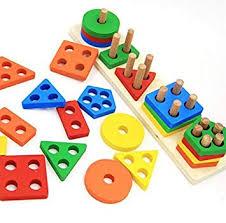 Revanak Wooden Educational Preschool Toddler ... - Amazon.com