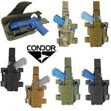 Condor <b>Tornado Tactical</b> Adjustable Drop Leg <b>Pistol</b> Right or Left ...