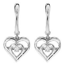 Lyle Husar Designs <b>Heart</b>-<b>Shaped Earrings</b> ROL2045 — Craig ...