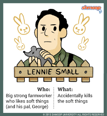 lennie small in of mice and mencharacter analysis
