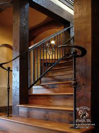 american craftsman style double volute railing american craftsman style