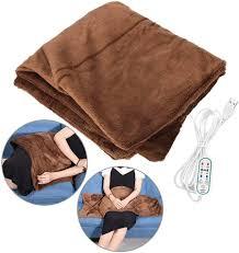 Faraone4w Electric <b>Heated Shawl Blanket</b>,100x65cm <b>Fast Heating</b> ...