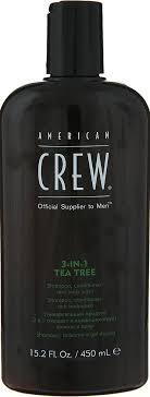 American Crew Tea Tree <b>3</b>-in-<b>1</b> Средство <b>3 в 1 Шампунь</b> ...