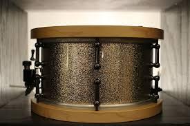 <b>Custom Made</b> Snare Drum With Yamaha <b>Vintage</b> Wood Hoops Pink ...