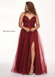 <b>Spaghetti Straps Sleeveless</b> A-Line Appliques Plus Size Prom Dress ...