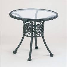 dining table aged ebony