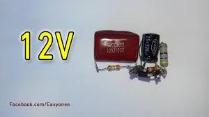 Transformerless Power Supply (<b>220V AC</b> to 12V DC) - YouTube