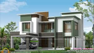 Kerala Contemporary House Designs Square Meter Flat Roof White    square meter flat roof white flat roof contemporary house plans