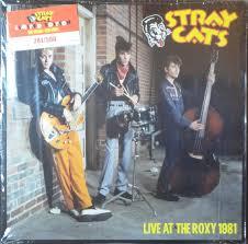 <b>Stray Cats</b> - <b>Live</b> At The Roxy 1981 (2014, Red Translucent, Vinyl ...