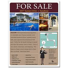 real estate flyer x pt gloss text advertising magnets real estate flyer 8 5 x 11 inch