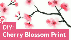 How to <b>Paint</b> Cherry <b>Blossoms</b> | Sea Lemon - YouTube