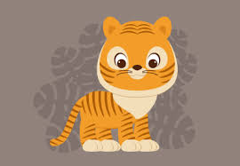 How to Create a <b>Cute Cartoon</b> Tiger Illustration in Adobe Illustrator