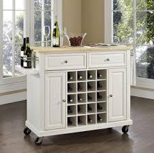 narrow kitchen cart storage solutions