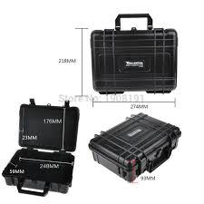 Waterproof Hard <b>Case with</b> foam for Camera Video Equipment ...