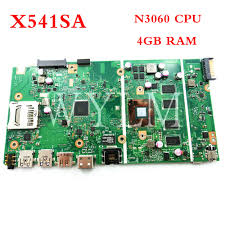 <b>X541SA N3060 CPU 4GB</b> RAM laptop motherboard mainboard For ...
